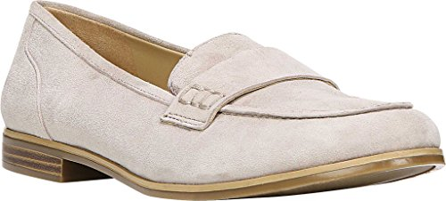 Naturalizer Women's Veronica Penny Loafer Turtle Dove Kid Suede