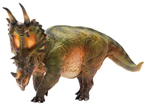 PNSO スピノプス セントロサウルス スティラコサウルス 角竜類 恐竜 生物 リアル フィギュア PVC プラモデル おもちゃ 模型 恐竜好きのこども 孫への誕生日 プレゼント プレミアム 15cm級 オリジナル インテリア 塗装済