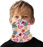 meakeize Girls Hiking Mask Bandanas Face Rave Mask