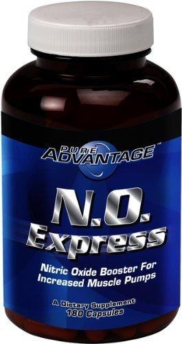 Pur Avantage Aucune garantie formelle d'oxyde nitrique Booster Capsules, 180 comte