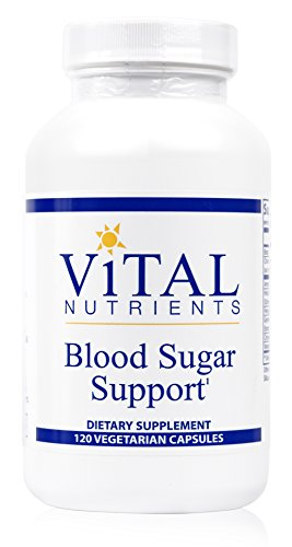 Vital Nutrients - Blood Sugar Support - Support for Normal Blood Sugar Levels in Healthy Individuals - 120 Capsules