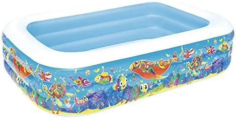 TYUIO インフレータブルプール、子供用インフレータブルプール高まりそして肥厚赤ちゃん緊縛プール、ファミリープール