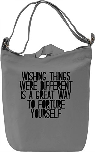 Great Way To Fortune Yourself Borsa Giornaliera Canvas Canvas Day Bag| 100% Premium Cotton Canvas| DTG Printing|