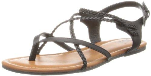 Adrianna Gladiator Sandal Black Women's MIA 5gwpYY