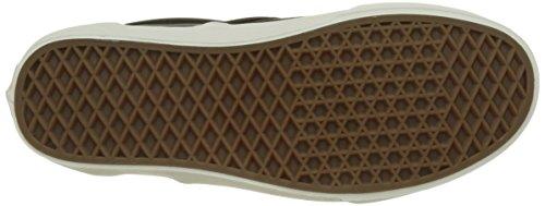 leather Noir Classic Basses Ua Homme Slip Perf on Vans Baskets 0O8ac