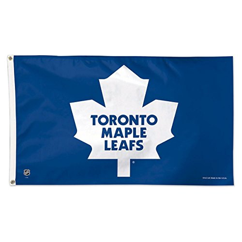 NHL Toronto Maple Leafs Deluxe Flag, 3' x 5' (Deluxe Maple)