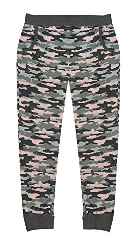 Popular Girl's Joggers with Pockets - Camo - 12