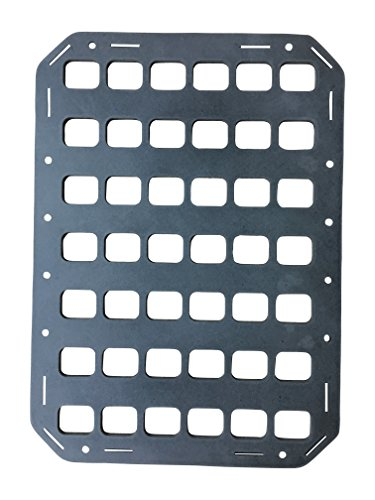(Grey Man Tactical Rigid Insert Panel MOLLE (RIP-M) - 10.75in x 15in)