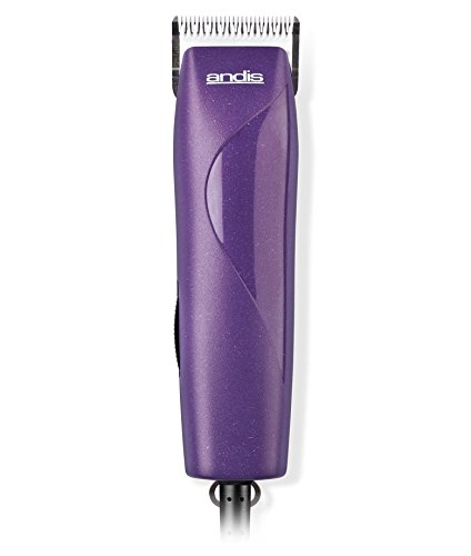 Detachable Clipper (Andis EasyClip Pro-Animal 7-Piece Detachable Blade Clipper Kit in Frustration Free Packaging, Pet Grooming, MBG-2)