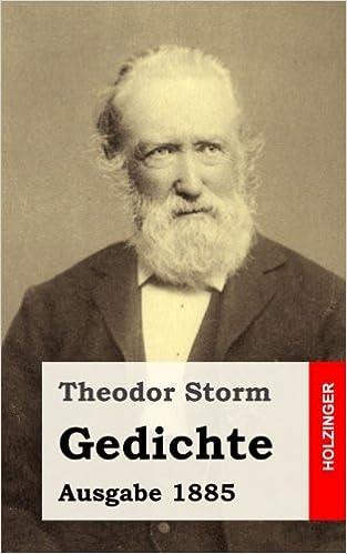 Gedichte Ausgabe 1885 German Edition Theodor Storm