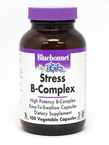 Bluebonnet Stress B-Complex 50 Vegetable Capsules