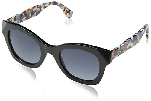 Sunglasses Fendi Ff 204/S 05MB Black Multi-C / HD gray gradient - C.s. Sunglasses