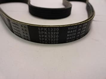 K050520 DAYTONA Serpentine Belt OEM Manufacturer Quality 5PK1320 5050520 4050520 520K5 5PK1320 K50520