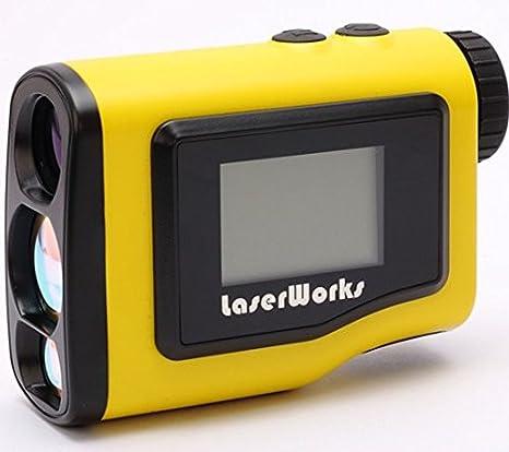 Spot-on slrf600Digital telémetro láser 600: 8modos de medición, Digital externo LCD, alcance de 600m, inclinación ± 90°, precisión ± 0,5m