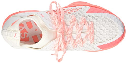 Puma Bianco Peach Scape Per Evospeed puma Donna Netfit nrgy Sport 3 Indoor White pOwq6xprF8