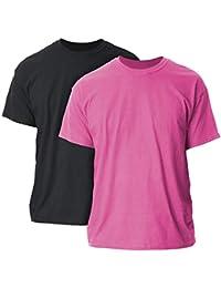 475970fe Men's Ultra Cotton Adult T-Shirt, 2-Pack