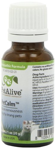 Image of PetAlive PetCalm for Pet Nervous System Balance and Stress (20g)