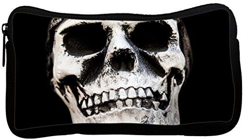 Rikki Knight Skull Bones Cracked Design Neoprene Pencil C...