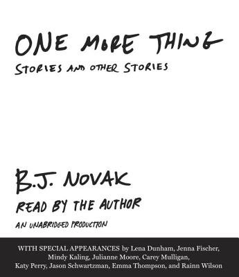 One More Thing( Stories and Other Stories)[1 MORE THING 6D][UNABRIDGED][Compact Disc]