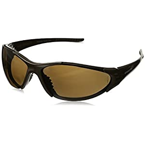 Crossfire Eyewear 181813 Core Polarized Safety Glasses with High Definition Brown Polarized Lens and Mocha Brown Frame