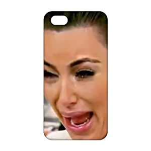 Fortune 3D Case Cover Kim Kardashian's Top 5 ugly cry faces Phone Case for iPhone 5s