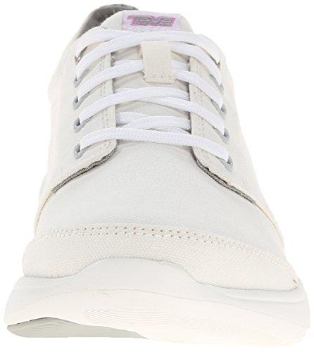 Teva Wander Lace W's - zapatillas de trekking y senderismo de lona mujer blanco - Weiß (973 white)