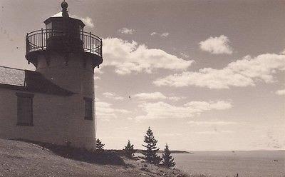F9245 ME, Bear Island Lighthouse Photo Postcard ()