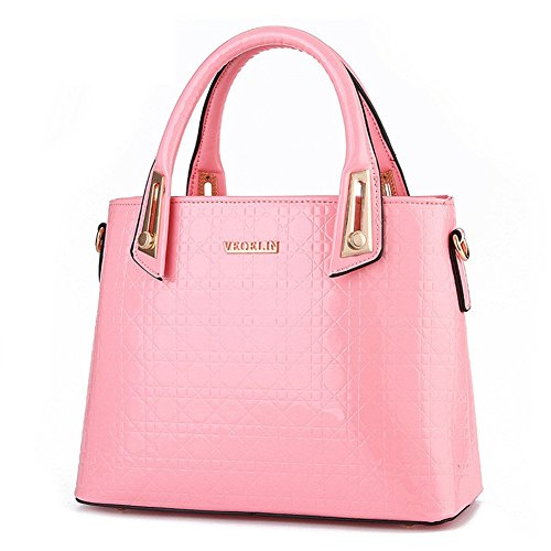 borsa In A Rosa Ecopelle Colore Tracolla lorenz Qckj New Donna Da xHEa60