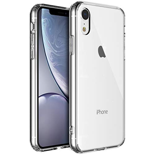 Shamo's for iPhone XR Case, XR Clear Case, [Crystal Clear] Case [Shock Absorption] Cover TPU Bumper Gel [Anti Scratch] Transparent