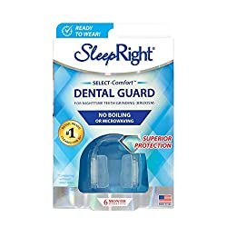 SleepRight Select No-Boil Dental Guard  Sleeping Teeth Guard  Mouth Guard To Prevent Teeth Grinding