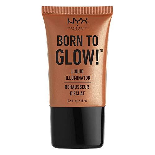 - NYX PROFESSIONAL MAKEUP Born To Glow Liquid Illuminator, Sun Goddess, 0.60 Ounce