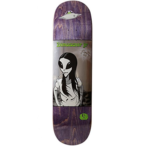 Alien Workshop Skateboard - Alien Workshop Dinosaur Jr Green Dream Skateboard Deck - 8.5