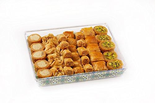 Al Bohsali 1870- Premium Baklava Mix 36 Pieces (Best Nuts For Baklava)