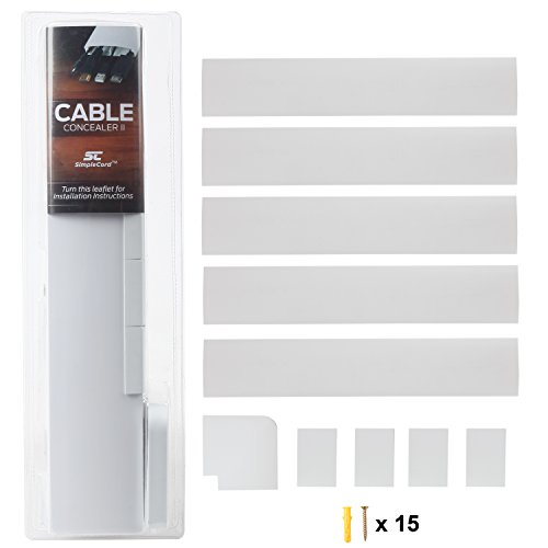 TV Cable Concealer II Cord Cov