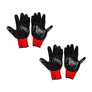 Jili Online Fitted Bite-proof Gloves Garden Rubber Protective Gloves for Pet Hamster 2Pc