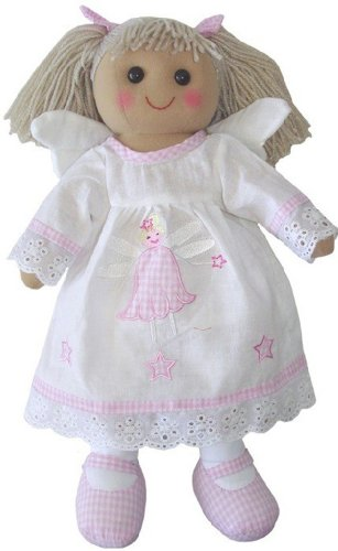 Dirty Fingers A Beautiful Rag Doll in a Cute Angel Outfit (40 cm high) -