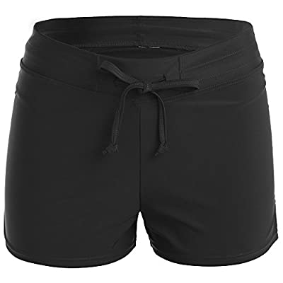 Elloya Women's Board Shorts Swimsuit Swim Trunks Tankini Bottom Workout Shorts