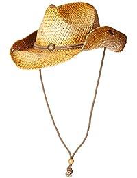 a81f0670690 Mens Straw Round up Cowboy Hat