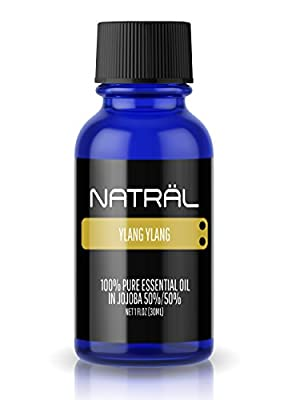 NATRÄL Ylang Ylang, 100% Pure and Natural Essential Oil, Large 1 Ounce Bottle