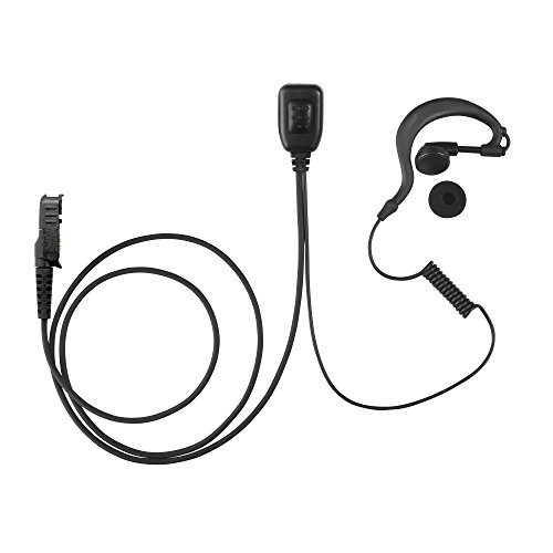 Maxtop AEH1003-AX G-Sharp Earhanger Earphone for Motorola XiR P6628 XIR E8600 E8608 XPR 3300 XPR 3500 (3500 Electronic)