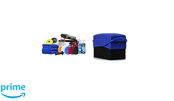 Chemical Guys BUF/_2092 Porter Cable Detailing Kit Fluid/_Ounces with Tire and Trim Contour Applicator 4 8 Item