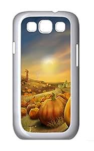 Samsung S3 Case Thanksgiving Day 5 PC Custom Samsung S3 Case Cover White