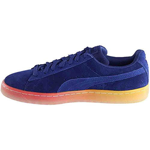 PUMA Men's Classic Maneet Vesperum Suede Ankle-High Fashion Sneaker Blue Depths / Blue Depths free shipping pay with paypal ezl972qs0
