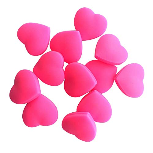 ruiycltd 3Pcs Heart Shape Silicone Tennis Racket Shock Absorber Dampener Reduce Vibration New Year