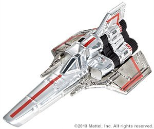 Battlestar Gallactica Colonial Viper Vehicle SDCC 2013 Comiccon Exclusive by Mattel