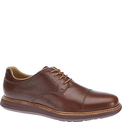 Sebago Mens Smyth Cap Toe Oxfords, Leather Brown Leather