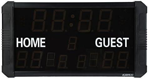 GOTOTOP Electrónico LED Marcador con Control Remoto para ...