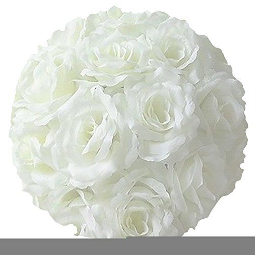 Song Qing Satin Artificial Flowers Silk Rose Flower Kissing Ball (Kissing Ball)