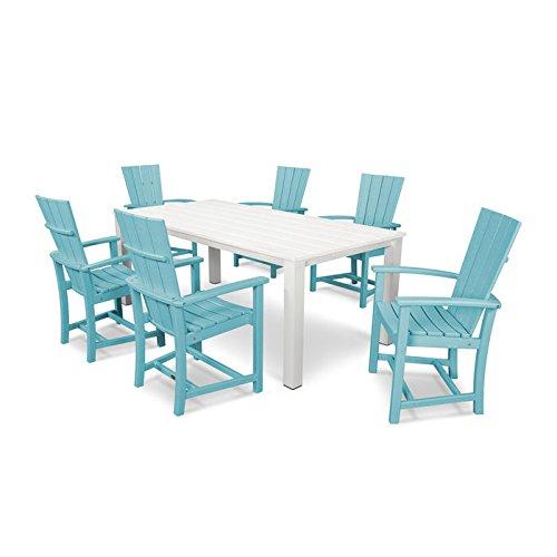 POLYWOOD Quattro 7 Piece Dining Set