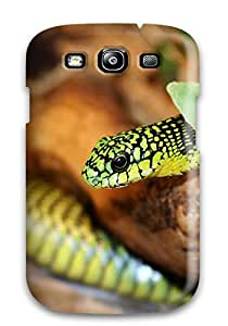 Series Skin Case Cover For Galaxy S3(a Green Snake 2)